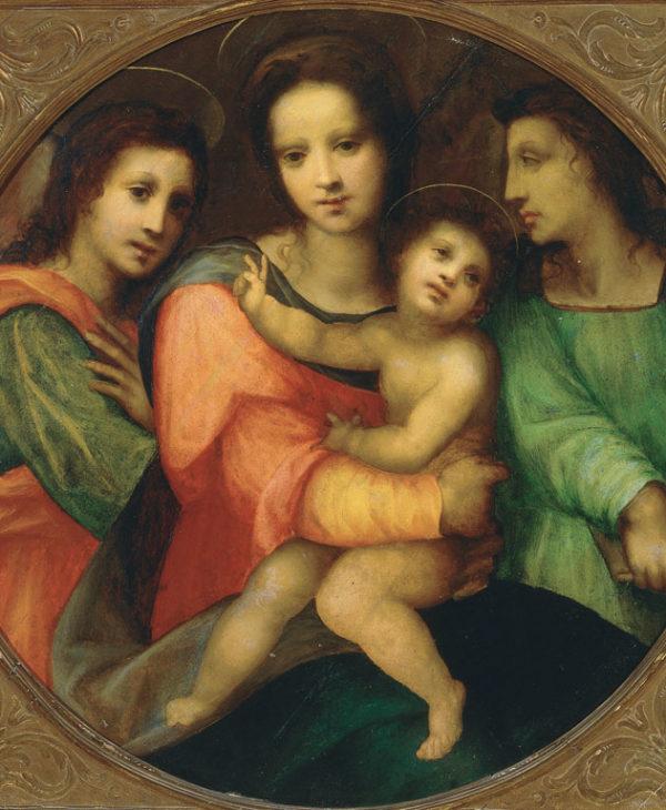 Madonna con Bambino e due angeli