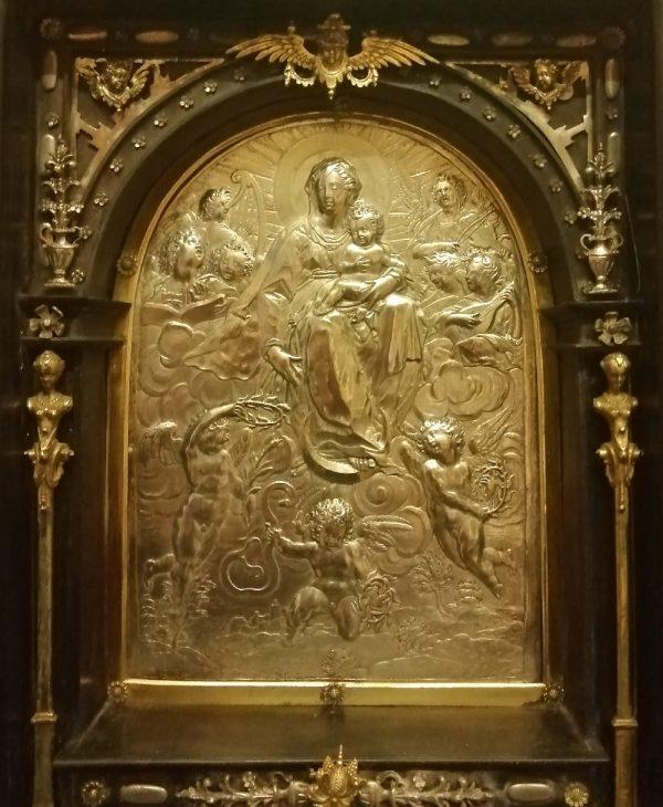 Oratorio domestico con storie della vita di Maria Vergine e di Cristo