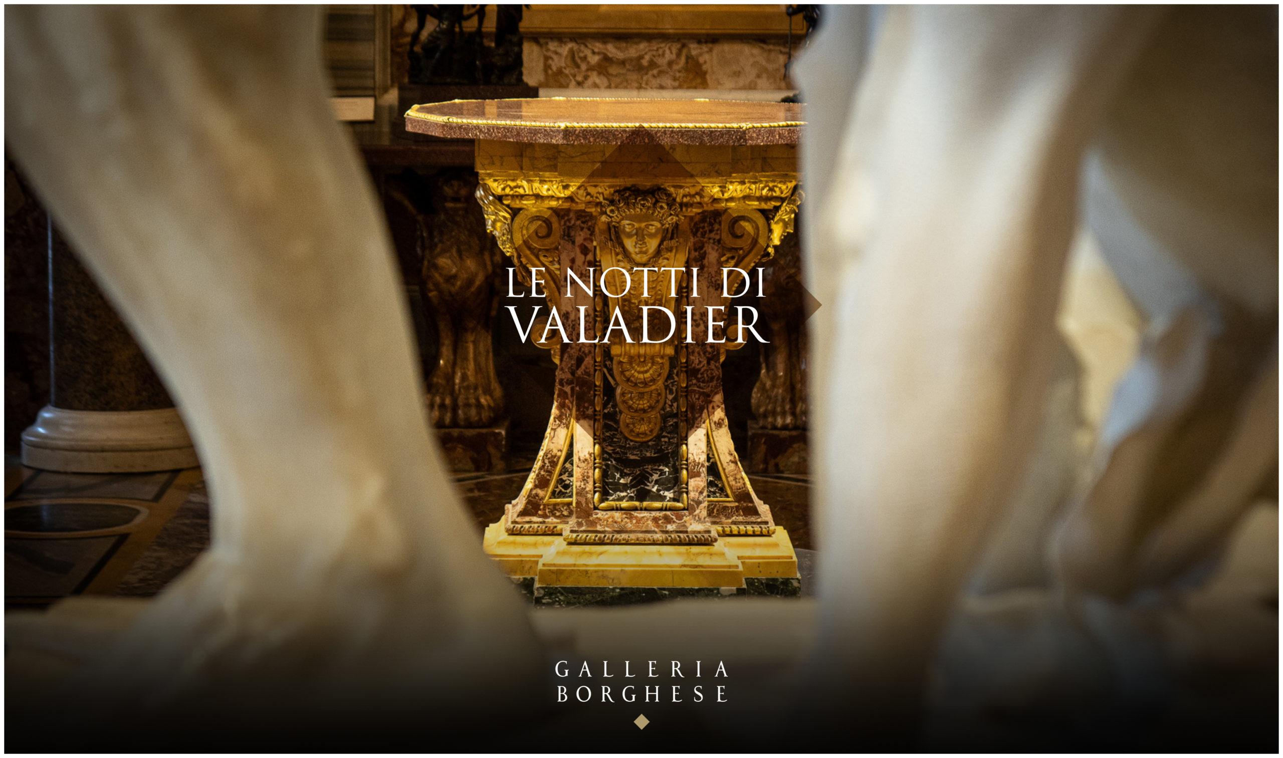 Le notti di Valadier. Aperture  straordinarie alla Galleria Borghese