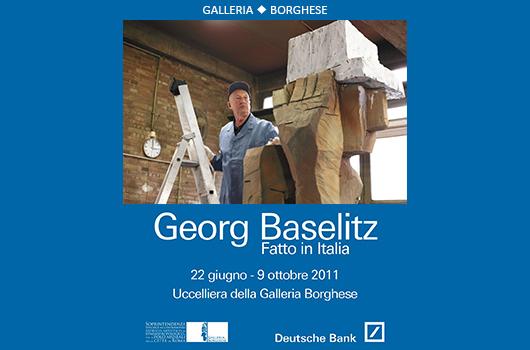 GEORG BASELITZ. FATTO IN ITALIA