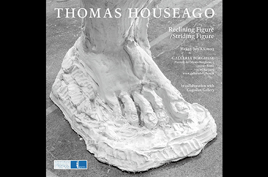 THOMAS HOUSEAGO: STRIDING FIGURE/STANDING FIGURE
