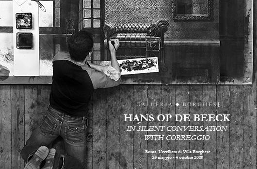 HANS OP DE BEECK. IN SILENT CONVERSATION WITH CORREGGIO